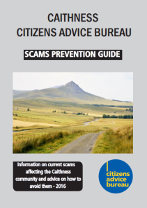 Caithness scams cover